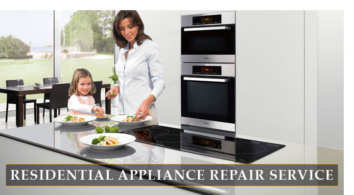 Residential appliance repair service